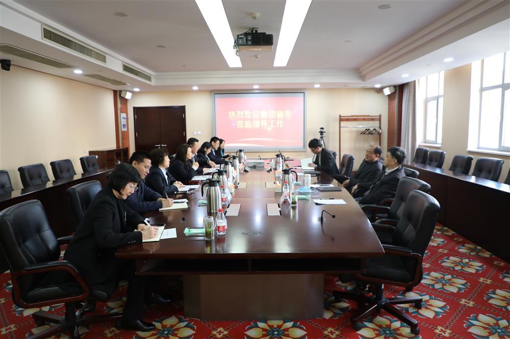 产发集团董事长史同伟到济南市工程咨询院调研