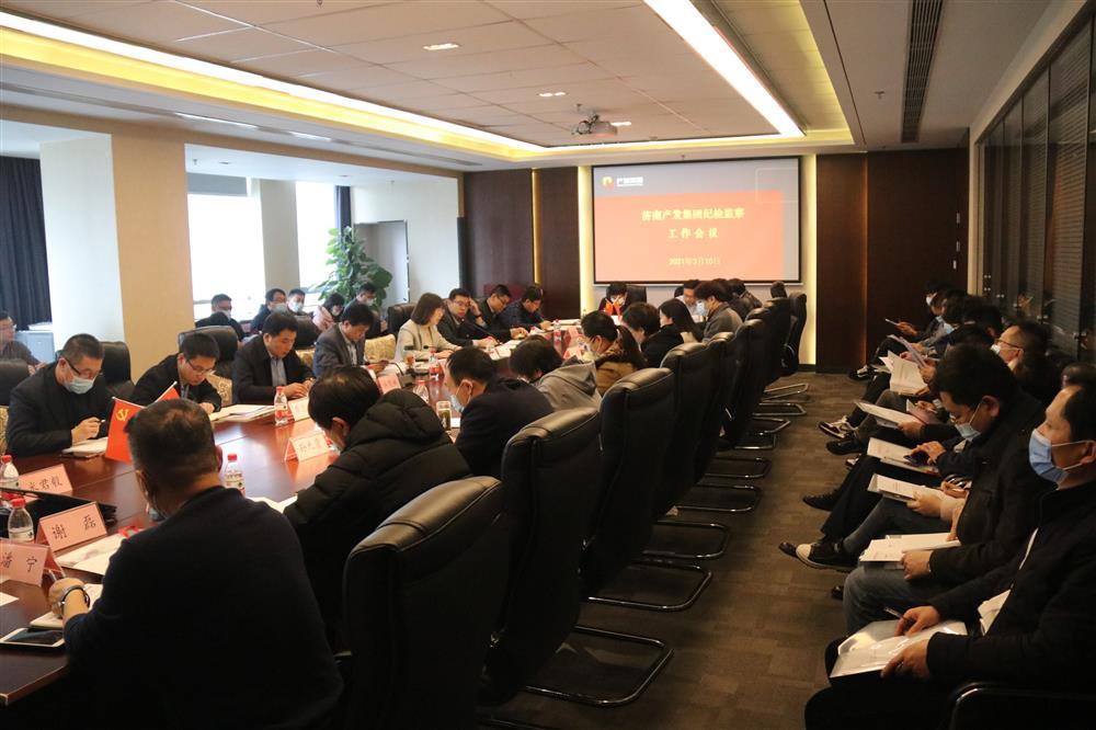 济南欧宝体育网页版登陆集团召开年度纪检监察工作会议