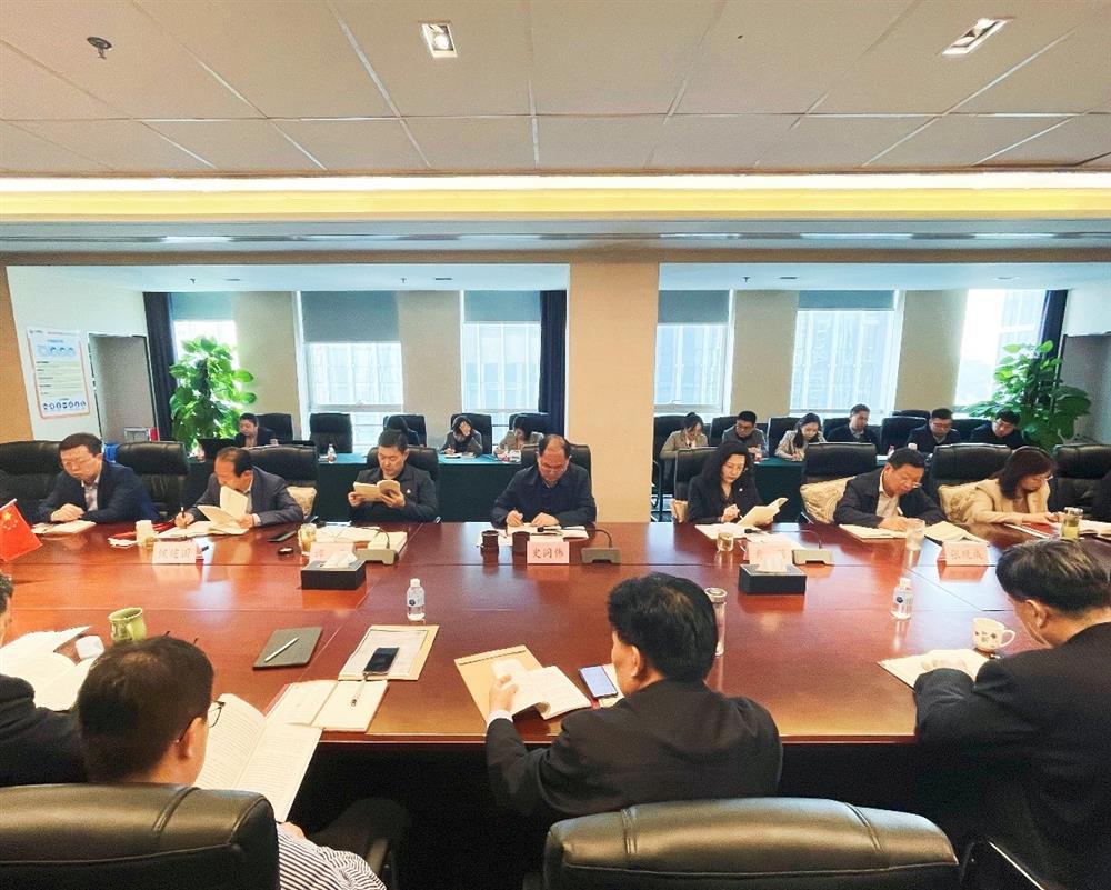 济南产发集团举办党史学习教育读书班
